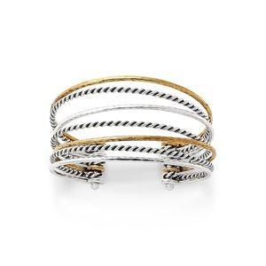 James Avery Multi-Layered Cuff Bracelet
